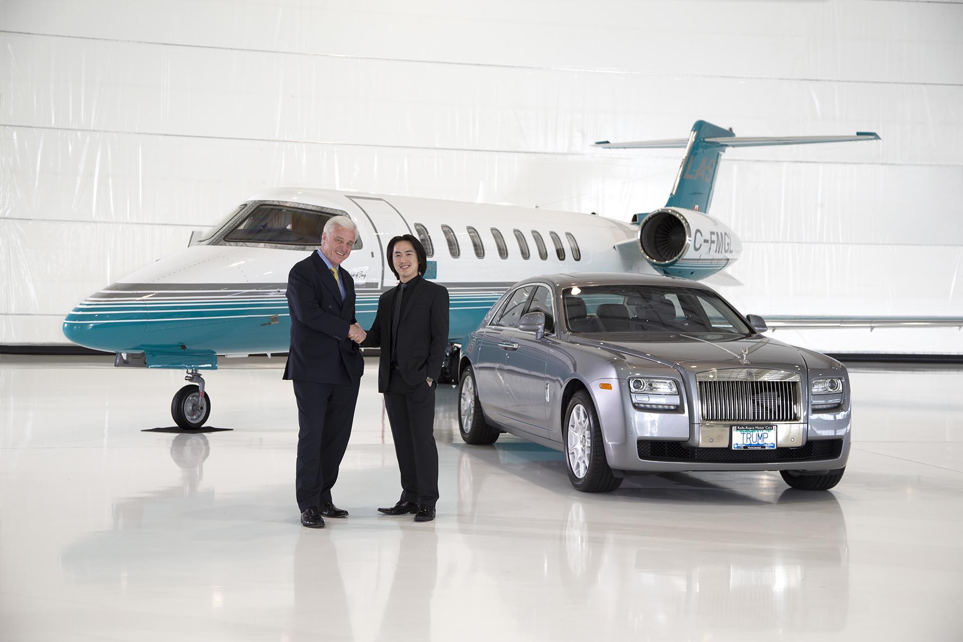 A Partnership: LAS, Rolls-Royce & TIHT Vancouver